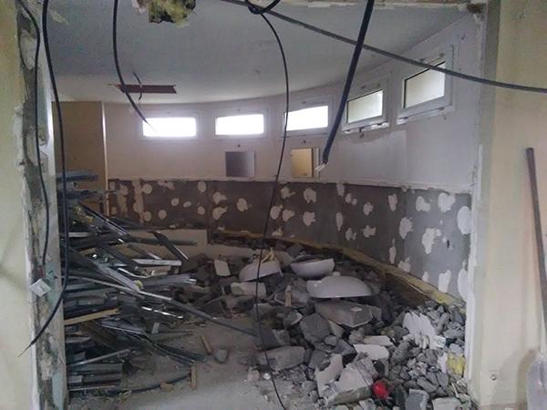 Démolition du logement par EGDC Services